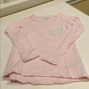 Nordstrom's Tucker and Tate pink shirt